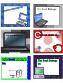 Technology Bookplates - Assorted