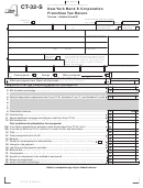 Form Ct-32-s - New York Bank S Corporation Franchise Tax Return