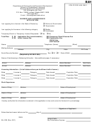 Form Bah - Barber And Hairdresser Application - Alaska Department Of Community And Economic Development