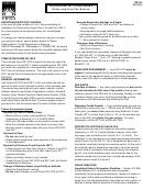 Form Dr-7n - Instructions