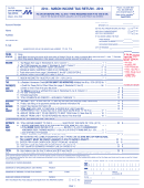 Form Ir - Mason Income Tax Return - 2014