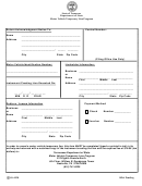 Form Ss-4258 - Motor Vehicle Temporary Lien Program
