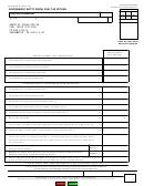 Form Boe-501-dg - Government Entity Diesel Fuel Tax Return