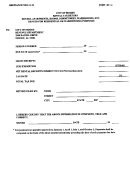 Form Rt-1 - Rented For Residential Or Warehousing Purposes