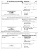 Form D-1 - City Of Pickerington Estimate Payment - Voucher No.2 - 2015
