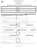Form Wv/bgo-1 - Application For Regular Annual, Limited Or State Fair Bingo License