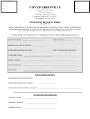 Form Erf-int - Extension Request Form