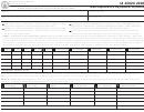 Form Ia 4562a - Iowa Depreciation Adjustment Schedule - 2006