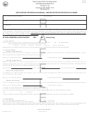 Form Wv/raf-1 - Application For Regular Annual, Limited Or State Fair Raffle License