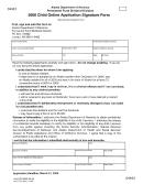 Form 04443 - Child Online Application Signature Form