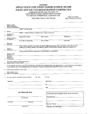 Application For Union Parish School Board Sales And Use Tax Registration Certificate Form