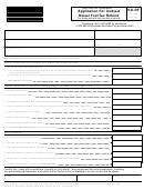 Form Sd-rf - Application For Undyed Diesel Fuel Tax Refund Form - Utah State Tax Comission