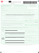 Form Fp-129a - Extension Of Time To File Dc Personal Property Tax Return