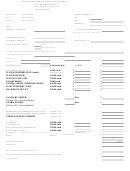 Application For Plumbing/sewer Permit Form
