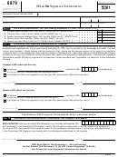 Form 8879 - Irs E-file Signature Authorization