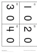 Math Expressions - Demonstration Secret Code Cards Worksheet