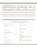 Income Calculation Worksheet - South Dakota Department Of Revenue & Regulation - 2007