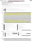 Sd Eform 1932 V5 - South Dakota Streamlined Sales Tax Agreement - Certificate Of Exemption