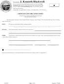 Form 115-lca - Articles Of Organization - Secretary Of State - Ohio