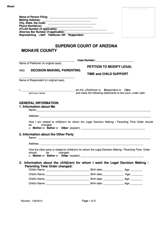 make a petition form
