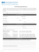 Provider Reconsideration Form - Blue Cross Blue Shield Of South Carolina