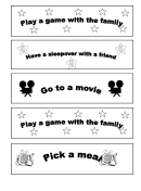 Behavior Template - Play Game With The Family