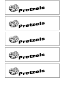 Behavior Template - Pretzels
