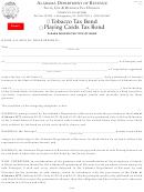 Form Tob-ttb - Tobacco Tax Bond/playing Cards Tax Bond