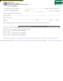 Letter Of Resignation Form - Department Of Commerce
