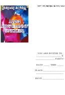 Invitation Template - Wedding Anniversary Party