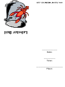 Invitation Template - Lobster Boil