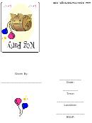Invitation Template - Kog Party
