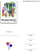 Invitation Template - Family Gathering