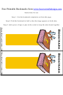 Bible Bookmark Template