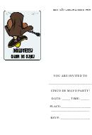 Cinco De Mayo Party - Party Invitation Template