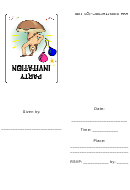 Invitation Template - Party