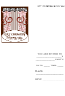 Invitation Template - 20th Wedding Anniversary Party