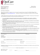 Security Request Form - Security Letter