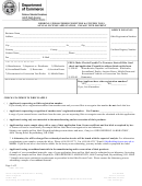 Bedding, Upholstered Furniture & Stuffed Toys Annual License Application Form