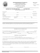 Form Dic4302 - Report Of Welded Repair Alteration