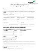 Adult Financial Assistance Program Application Form - 2016-2017