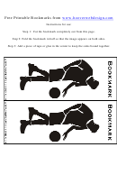 Basketball Bookmark Template