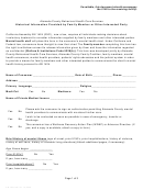 Form Ab-1424 - Historical Information Provided By Family Member Or Other Interested Party