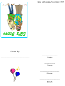 60th Theme Party Invitation Template