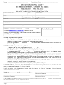 Order To Defer Traffic Infraction Form - Cheney Municipal Court