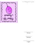 Party Invitation Template - Purple