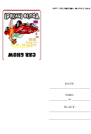Car Show Invitation Template
