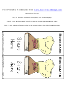 Cooking Hat Bookmark Template