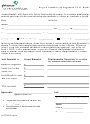 Request For Individually Registered Girl Su Funds Form - Girl Scouts Of The Colonial Coast