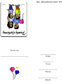 Family Gathering Party Invitation Template